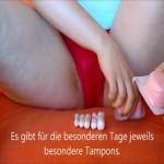 Lena klärt auf – alles über Tampons